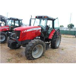 2013 MASSEY FERGUSON 5465 FARM TRACTOR;; VIN/SN:B285047 - MFWD, 3 PTH, PTO, 3 HYD REMOTES, DYNA 4 TR