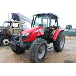 2014 MASSEY FERGUSON 5612 FARM TRACTOR;; VIN/SN:D354050 - MFWD, PTO, 3 HYD REMOTES, DYNA R TRANS, 18