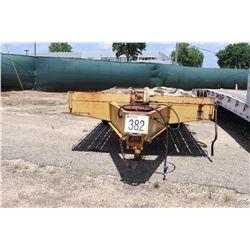 """FLATBED TRAILER PH2522DTA20 VIN/SN:4MNDP2524S0001509 - 8' 6"""" WIDE, 25' LENGTH, T/A, PINTLE HITCH, 8."""