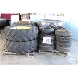 TIRES (8) 215 75R17.5, (4) LT225 75R16, (4) 7.00 X 15, (2) P205 75R15 FILTERS