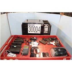 CALCULATORS, SOUTHERN LINCS, DISTANCE MEASURING DEVICES, CAMERA, MEDIA CART
