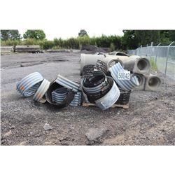 MISC METAL AND CONCRETE PIPES