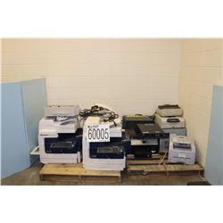 PRINTERS, DIGITAL VIDEO RECORDING SYSTEMS, NTEWORK SWITCH, FAX MACHINE