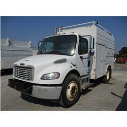 2008 FREIGHTLINER M2 SERVICE TRUCK, VIN/SN:1FVACWDJ38HY96779 - S/A, MERCEDES-BENZ DIESEL, A/T, 22,50