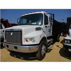 2010 FREIGHTLINER BUSINESS CLASS FLATBED DUMP, VIN/SN:1FVAC2BSXADAR3133 - S/A, CUMMINS DIESEL ENGINE