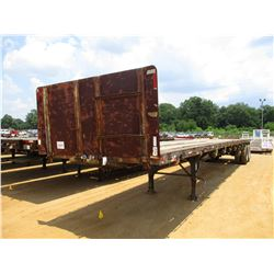 """45' FLATBED TRAILER, - T/A, 96"""" WIDTH, 285/75R24.5 TIRES"""