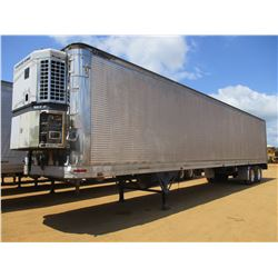 1989 GREAT DANE 820ITZ1 REEFER TRAILER, VIN/SN:1GRAA9024JS130101 - T/A, 48' LENGTH, THERMO KING REEF
