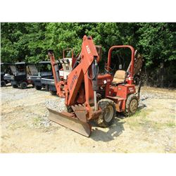 DITCH WITCH 3700DD TRENCHER, VIN/SN:3W0055 -DITCH WITCH A322 BACKHOE ATTACH, DITCH WITCH H313 REAR T