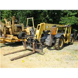 CAT TL943 TELESCOPIC FORKLIFT, VIN/SN:TBL00943 - 9000# CAPACITY, 43' REACH, CANOPY