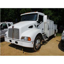 2005 KENWORTH T300 SERVICE TRUCK, VIN/SN:2NKMHZ6X45M102610 - S/A, 260HP ISC DIESEL ENGINE, ALLISON A