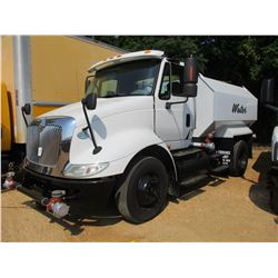 2009 INTERNATIONAL 8600 WATER TRUCK, VIN/SN:1HSHWAHN69J122433 - S/A, IHC DIESEL ENGINE, 10 SPEED TRA