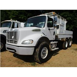 2007 FREIGHTLINER M2 BUSINESS CLASS WATER TRUCK, VIN/SN:1FVHC5DE17HY16311 - T/A, CAT DIESEL ENGINE,