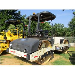 "2007 INGERSOLL-RAND DD138H.F. ROLLER, VIN/SN:194593 - TANDEM, VIBRATORY, 84"" SMOOTH DRUMS, WATER SYS"