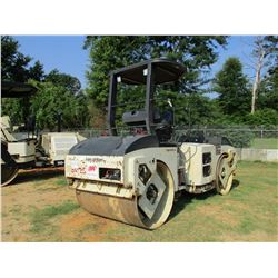 INGERSOLL-RAND DD70 ROLLER, VIN/SN:187712 -TANDEM, VIBRATORY, WATER SYSTEM, CANOPY, METER READING 5,