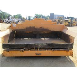 LEEBOY 1000T PAVER, VIN/SN:14827 - DIESEL ENGINE, CRAWLER, ADJUSTABLE SCREED, METER READING 2,942 HO