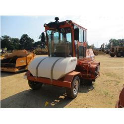 2009 BROCE RJ350 BROOM, VIN/SN:406354 - WATER SYSTEM, ECAB W/AC, METER READING 1,635 HOURS
