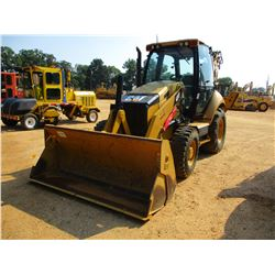 "2012 CAT 430F LOADER BACKHOE, VIN/SN:RDF00250 - 4X4, E-STICK, MP BUCKET, 24"" HOE BUCKET, ECAB W/AC,"