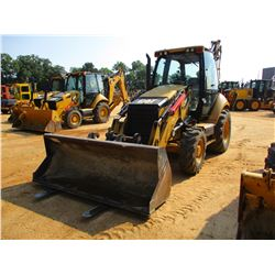 "CAT 420F IT LOADER BACKHOE, VIN/SN:JWJ00483 - E STICK, QUICK COUPLER, GP BUCKET, FORKS, 24"" HOE BUCK"