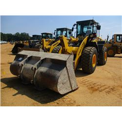 2014 KOMATSU WA320-7 WHEEL LOADER, VIN/SN:A36269 - QUICK COUPLER, GP BUCKET, FORKS, RIDE CONTROL, RE