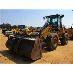 2006 CAT 930G WHEEL LOADER, VIN/SN:TWR01872 - QUICK COUPLER, GP BUCKET, FORKS, AUX HYD, ECAB W/AC, 2