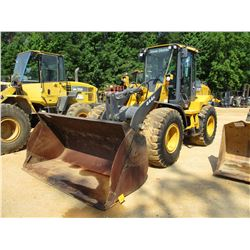 2013 JOHN DEERE 444K WHEEL LOADER, VIN/SN:655308 - GP BUCKET, RIDE CONTROL, ECAB W/AC, 20.5-25 TIRES