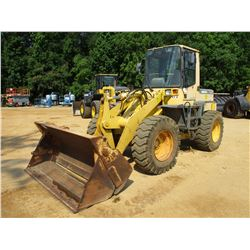 KOMATSU WA180-3L WHEEL LOADER, VIN/SN:A80295 - MP BUCKET, AUX HYD, ECAB W/AC, 17.5-25 TIRES, METER R