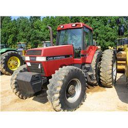 CASE INTERNATIONAL 7140 FARM TRACTOR, VIN/SN:AJB0008138 - MFWD, 3 PTH, PTO, 3 HYD REMOTES, ECAB W/AC