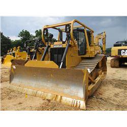 2012 CAT D6T LGP CRAWLER TRACTOR, VIN/SN:ZJB00398 - STRAIGHT BLADE W/HYD TILT, SYSTEM 1 U/C, DIFF ST
