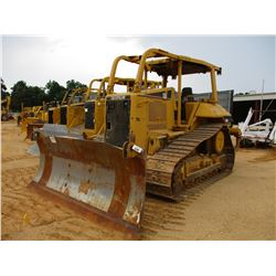 CAT D6N XL CRAWLER TRACTOR, VIN/SN:D6NVAKM00502 - 6 WAY BLADE, DIFF STEER, REAR RIPPER, CANOPY, SWEE