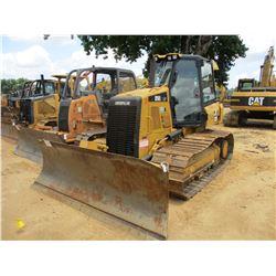 2012 CAT D5K2 LGP CRAWLER TRACTOR, VIN/SN:KYY00269 - 6 WAY BLADE, SYSTEM 1 U/C, ECAB W/AC, METER REA