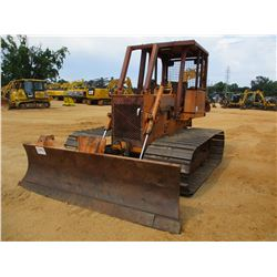 CASE 450C CRAWLER TRACTOR, VIN/SN:CBE0002402 - 6 WAY BLADE, CANOPY, METER READING 3,665 HOURS