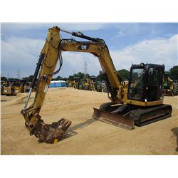 "2011 CAT 308D CR HYDRAULIC EXCAVATOR, VIN/SN:FYC02046 - 7' STICK, 24"" BUCKET, AUTO LUBE, BLADE, RUBB"