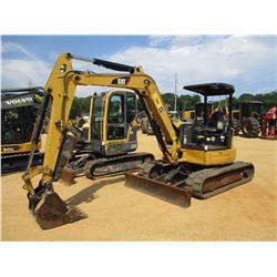 """2011 CAT 305.5D CR MINI EXCAVATOR, VIN/SN:FLZ00299 - 6' STICK, 24"""" BUCKET, HYD THUMB, BLADE, RUBBER"""