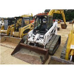 BOBCAT T200 SKID STEER LOADER, VIN/SN:518917104 - CRAWLER, GP BUCKET, ECAB W/AC