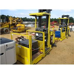 HYSTER R30XM2 ELECTRIC FORKLIFT, VIN/SN:G118N02170B - 3,000# CAPACITY, BATTERY CHARGER, 2 PERSON MAN