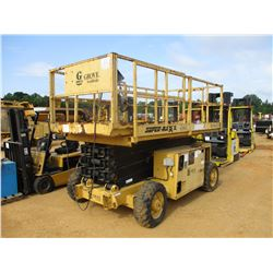 GROVE WORLDWIDE 3884XT MANLIFT, VIN/SN:43967 - 1,250# CAPACITY, GAS ENGINE, METER READING 1,317 HOUR