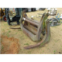 TIMBER FORKS W/TOP CLAMP