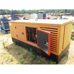 HIMOINSA GENERATOR SET, - 56 KW SET, 208/120 VOLTS, 60HZ DIESEL ENGINE