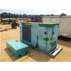 ONAN 100 GENERATOR SET, VIN/SN:D890231892 - CUMMINS DIESEL ENGINE, ONAN TRANSFER SWITCH BOX, METER R
