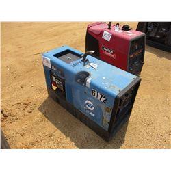 MILLER BOBCAT 225 WELDER/GENERATOR, - CC/CV, AC/DC, 8,000 WATT, GAS ENGINE
