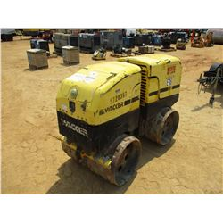 """2007 WACKER RT80 TRENCH ROLLER, VIN/SN:5720357 - 32"""" PADFOOT DRUMS, DIESEL ENGINE, REMOTE CONTROL IN"""