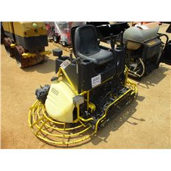 WACKER CRT-36-25K-H CONCRETE TROWEL, VIN/SN:0620027 -RIDE ON, GAS ENGINE