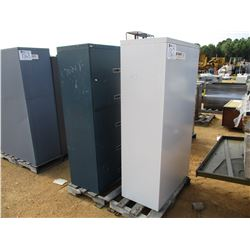 (2) METAL CABINETS
