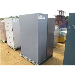 (2) METAL FILE CABINETS