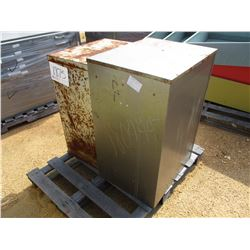 (2) X-RAY FILE CABINET