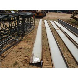 "- 40' X 16"" STEEL WEB CRANE BEAM"