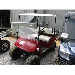 EZ-GO GOLF CART, VIN/SN:1019214 - ELECTRIC, REAR SEAT, WINDSHIELD, CANOPY