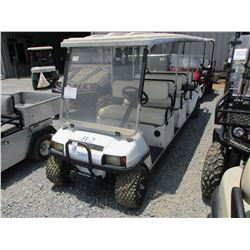 CLUB CAR GOLF CART, - 8 SEATER, ELECTRIC, WINDSHIELD