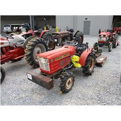 "YONMARK YM14010 FARM TRACTOR, VIN/SN:911413 - 3 PTH, PTO, RAZOR 48"" MOWER (COUNTY OWNED)"