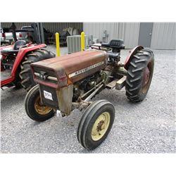 MASSEY FERGUSION 135 FARM TRACTOR, VIN/SN:SGM641002033 - 3PTH, PTO, 12.4-28 TIRES, METER READING 2,7